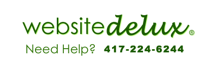 websitedelux.com green logo