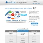 Twitter Management Design
